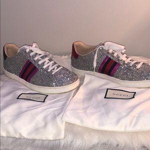 Gucci Glitter Sneakers